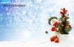 圣诞0003,圣诞,实用分层素材,雪人 圣诞树 枝头