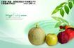 水果0003,水果,实用分层素材,香瓜 水果 营养