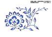 瓷器花纹0015,瓷器花纹,实用分层素材,雅致花纹