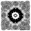瓷器花纹0058,瓷器花纹,实用分层素材,窗花 剪纸 手工艺