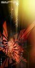 科技0062,科技,实用分层素材,棱形 红色 光线