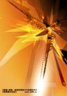 科技0070,科技,实用分层素材,金色 三角形 线条