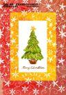 艺术海报0131,艺术海报,实用分层素材,杂志 封面 圣诞树