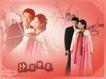 虞美人0006,虞美人,魅派摄影主题模板,比翼 双飞 朝鲜族 姑娘