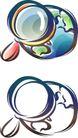 卡通物件0089,卡通物件,日韩盛典,小物件 放大镜 物品
