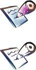 卡通物件0091,卡通物件,日韩盛典,铅笔头 纸张 写划