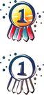 卡通物件0092,卡通物件,日韩盛典,一个小圆 数字1 小黑点