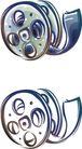 卡通物件0111,卡通物件,日韩盛典,电影胶卷 圆形 小孔