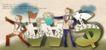 商务0062,商务,日韩盛典,幼苗 旗帜 洒水壶