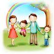 家庭0247,家庭,日韩盛典,彩虹 牵手 快乐