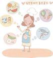 家庭0250,家庭,日韩盛典,牛奶 水果 蔬菜