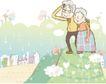 情人节0201,情人节,日韩盛典,夫妻 老人 恩爱
