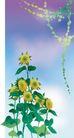 风景0151,风景,日韩盛典,蓝天 向日葵 树叶