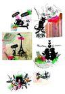 热潮涂鸦式设计0246,热潮涂鸦式设计,2008全球广告年鉴,