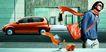 汽车轿车0048,汽车轿车,设计风云,红色 微轿 男士