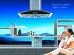 家用电器0009,家用电器,龙腾广告,坐地上 家用电器 瓶子