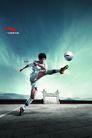 服装运动0019,服装运动,龙腾广告,足球 开球 足球服