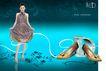 服装运动0036,服装运动,龙腾广告,连衣裙 女模特