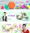 服装运动0051,服装运动,龙腾广告,女式 夏季 凉鞋 展览