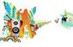 移动电信0059,移动电信,龙腾广告,摇滚 音箱 音乐 激情 舞蹈
