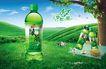 饮料0040,饮料,龙腾广告,绿茶广告