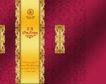 中秋月饼0119,中秋月饼,设计前沿封面包装,金色 暗红 欧风