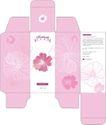 护肤品0007,护肤品,设计前沿封面包装,鲜花 底图 设计风格