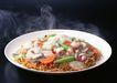 厨房料理0176,厨房料理,饮食水果,盘子 炒面 地瓜
