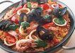 意大利面披萨沙拉0174,意大利面披萨沙拉,饮食水果,基围虾 鸡肠 青椒