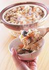 料理特写0171,料理特写,饮食水果,包斋饭 香菇 红萝卜