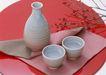 食物与器皿0177,食物与器皿,饮食水果,白酒 两杯 甘纯