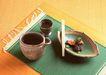 食物与器皿0180,食物与器皿,饮食水果,炒菜 吃完 方巾
