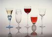 食物与器皿0195,食物与器皿,饮食水果,各种酒杯