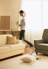 休闲居家0171,休闲居家,生活方式,插花 收拾 做家务