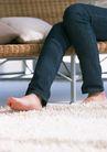 休闲居家0175,休闲居家,生活方式,赤脚 毛毯 靠椅