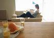 休闲居家0176,休闲居家,生活方式,橙汁 甜橙 沙发