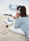 休闲居家0186,休闲居家,生活方式,听音乐 休闲生活