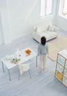 休闲居家0192,休闲居家,生活方式,主妇身影 白色桌子
