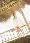 夏日少女海滩0158,夏日少女海滩,生活方式,柱子