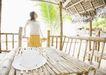 夏日少女海滩0160,夏日少女海滩,生活方式,简陋亭子