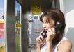 夏日少女海滩0196,夏日少女海滩,生活方式,公用电话