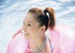 夏日泳装少女0178,夏日泳装少女,生活方式,扎高辫子 俏皮 炎热