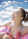 夏日泳装少女0182,夏日泳装少女,生活方式,开心女孩