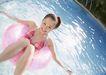 夏日泳装少女0184,夏日泳装少女,生活方式,水池