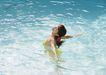 夏日泳装少女0186,夏日泳装少女,生活方式,水中少女
