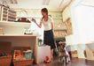 家有宠物0171,家有宠物,生活方式,宠物狗 逛街 买东西