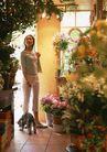 家有宠物0175,家有宠物,生活方式,挎包 九分裤 鲜花