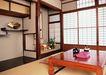 日式生活礼俗0180,日式生活礼俗,生活方式,茶桌 壶垫 扇子