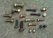 机械齿轮0174,机械齿轮,静物,铜材 废旧 滑丝