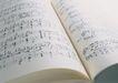 演奏乐器0196,演奏乐器,静物,乐谱